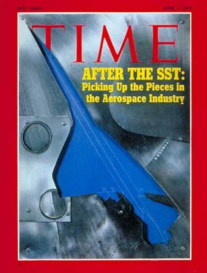 Time - Aerospace Industry - Apr. 5, 1971 - Aviation - Business