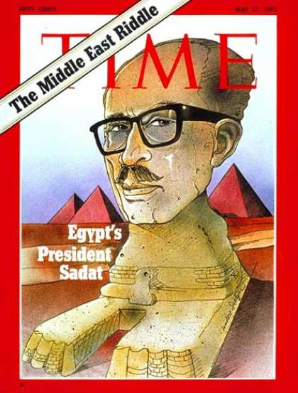 Time - Anwar Sadat - May 17, 1971 - Egypt - Middle East