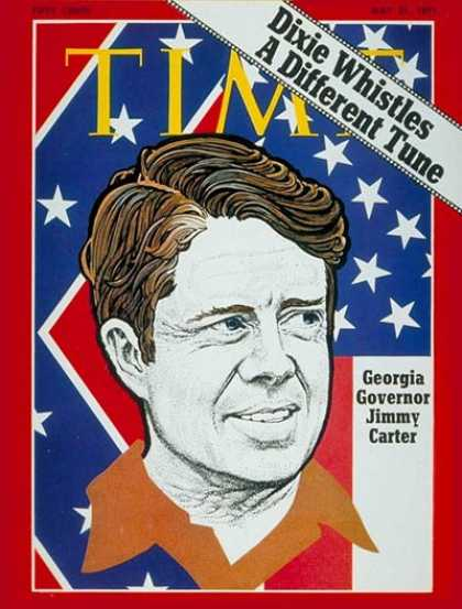 Time - Gov. Jimmy Carter - May 31, 1971 - Jimmy Carter - Governors - Politics