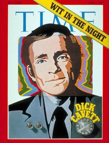 Time - Dick Cavett - June 7, 1971 - Television - Talk Shows