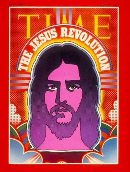 Time - The Jesus Revolution - June 21, 1971 - Jesus - Christianity - Religion