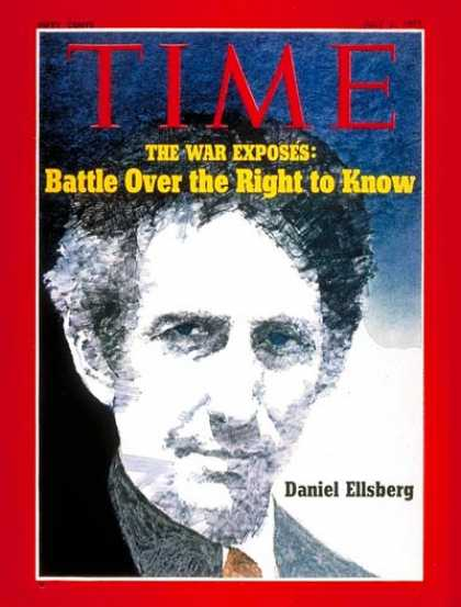 Time - Daniel Ellsberg - July 5, 1971 - Vietnam War - Vietnam