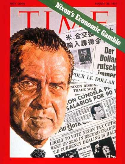 Time - Richard Nixon - Aug. 30, 1971 - U.S. Presidents - Politics