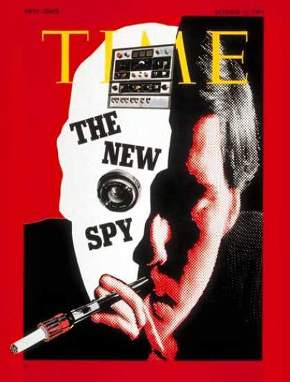 Time - The New Spy - Oct. 11, 1971 - Law Enforcement
