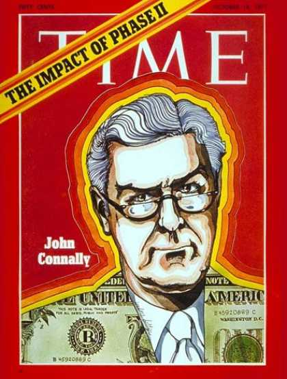Time - John Connally - Oct. 18, 1971 - Governors - Texas - Politics