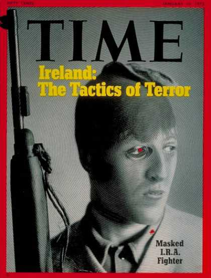 Time - I.R.A. Fighter - Jan. 10, 1972 - Ireland