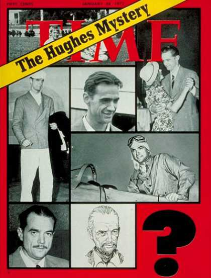 Time - The Hughes Mystery - Jan. 24, 1972