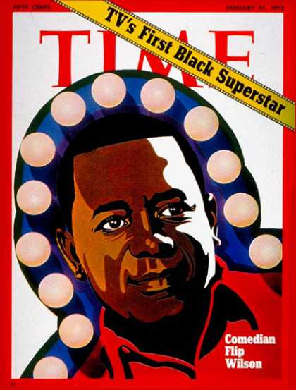 Time - Flip Wilson - Jan. 31, 1972 - Television - Actors - Comedy - Broadcasting