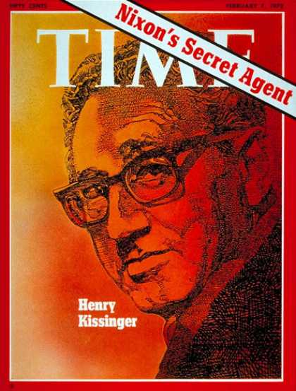 Time - Henry Kissinger - Feb. 7, 1972 - Diplomacy