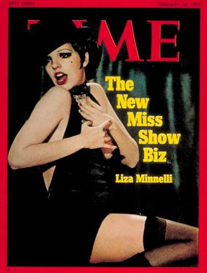 Time - Liza Minelli - Feb. 28, 1972 - Singers - Music