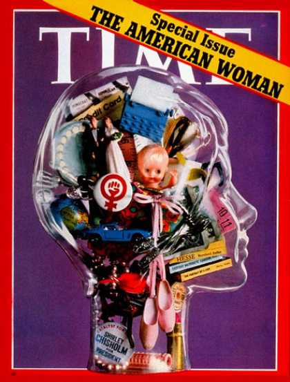 Time - The American Woman - Mar. 20, 1972 - Women - Society