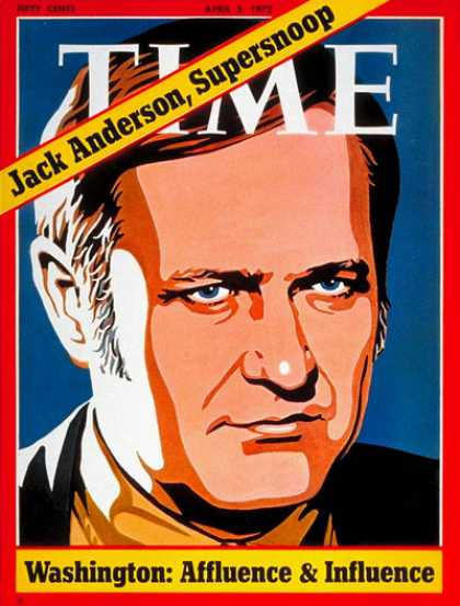 Time - Jack Anderson - Apr. 3, 1972 - Journalism - Washington