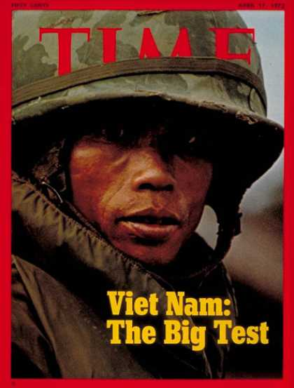 Time - Viet Nam - Apr. 17, 1972 - Vietnam War - Vietnam