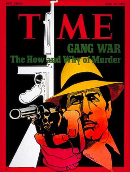 Time - Gang War - Apr. 24, 1972 - Murder - Crime - Death