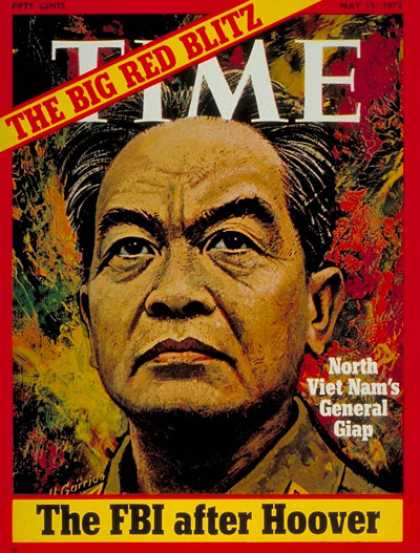 Time - General Vo Nguyen Giap - May 15, 1972 - Vo Nguyen Giap - Vietnam - Vietnam War -