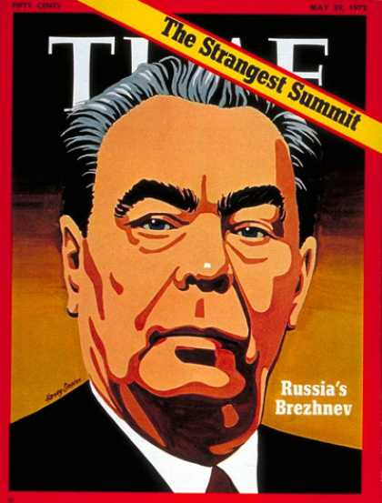 Time - Leonid Brezhnev - May 29, 1972 - Russia