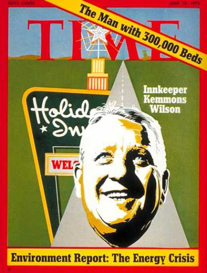 Time - Kemmons Wilson - June 12, 1972 - Business