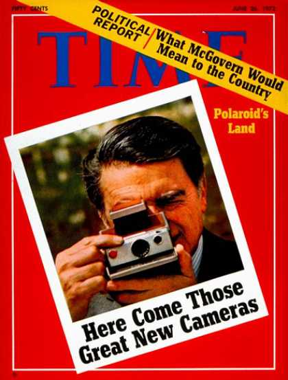 Time - Edwin Land - June 26, 1972 - Photography - Inventions - Innovation - Science & T