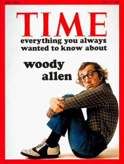 Time - Woody Allen - July 3, 1972 - Actors - Directors - Comedy - Movies