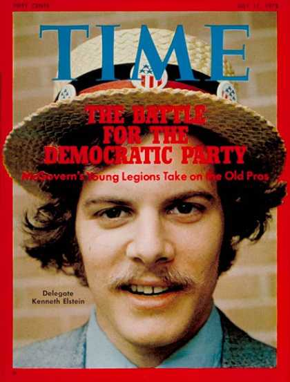 Time - Kenneth Elstein - July 17, 1972 - Politics