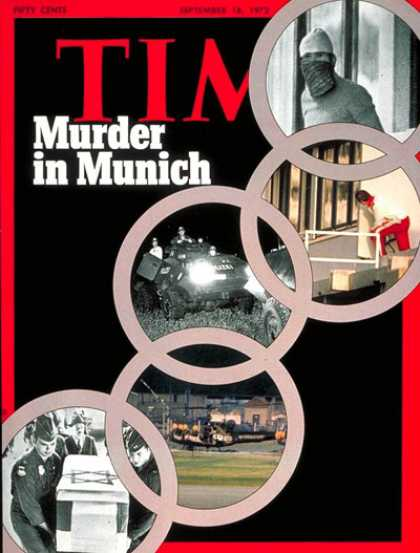 Time - Murder at the Olympics - Sep. 18, 1972 - Olympics - Terrorism