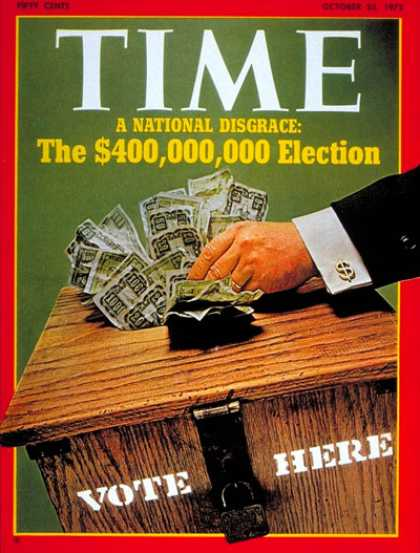 Time - Campaign Financing - Oct. 23, 1972 - Business