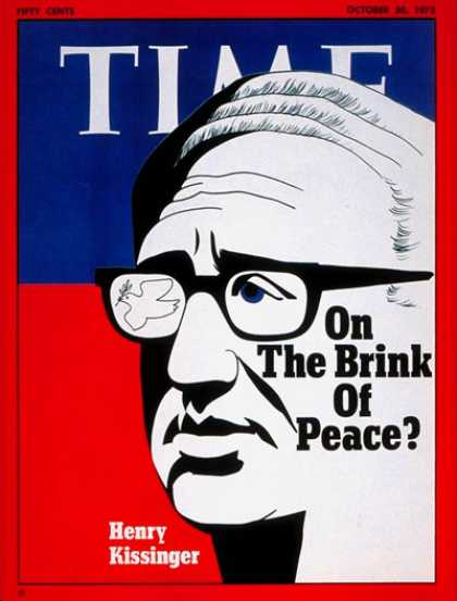 Time - Henry Kissinger - Oct. 30, 1972 - Diplomacy