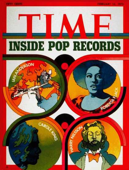 Time - Pop Records - Feb. 12, 1973 - Popular Culture - Music