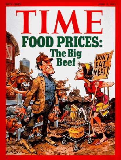 Time - Apr. 9, 1973 - Economy - Food - Inflation - Business