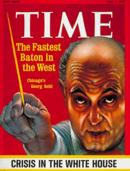 Time - Georg Solti - May 7, 1973 - Conductors - Classical Music - Music