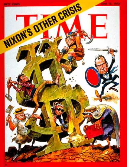 Time - The U.S. Economy - June 18, 1973 - Economy - Business