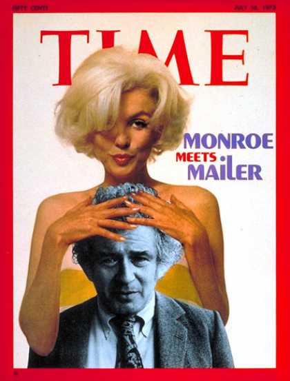 Time - July 16, 1973 - Marilyn Monroe - Actresses - Movies - Books