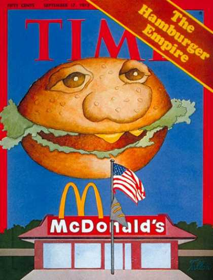 Time - Hamburger Empire - Sep. 17, 1973 - Economy - Food - McDonald's - Business