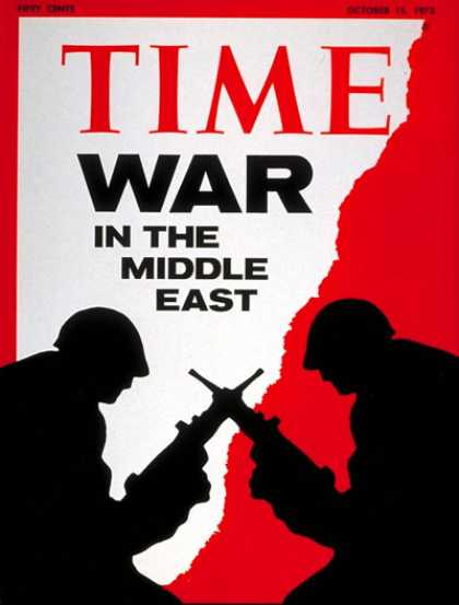 Time - Middle East War - Oct. 15, 1973 - Middle East