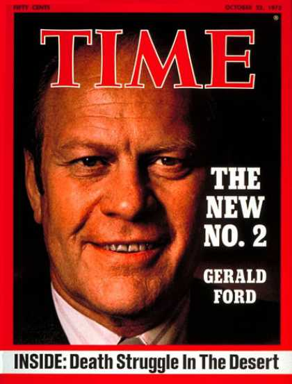 Time - Gerald Ford - Oct. 22, 1973 - Vice Presidents - Politics