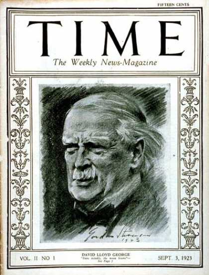 Time - David Lloyd George - Sep. 3, 1923 - Great Britain - Religion