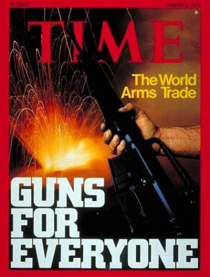 Time - The World Arms Trade - Mar. 3, 1975 - Weapons - Trade