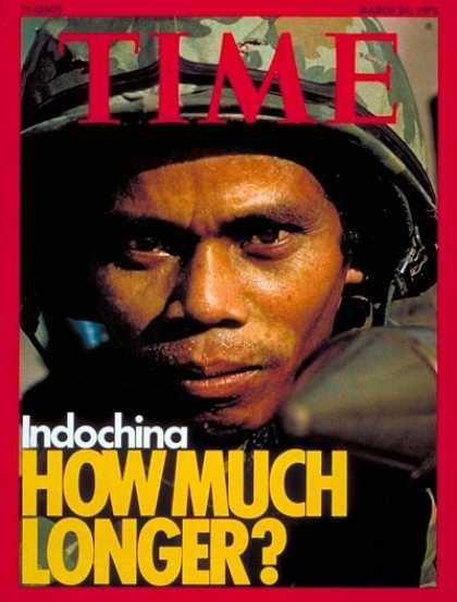 Time - Indochina - Mar. 24, 1975 - Military