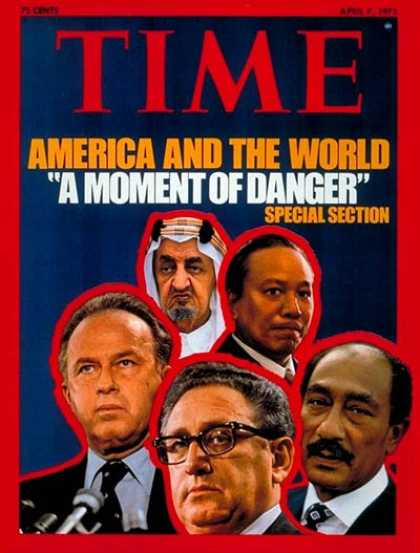 Time - America and the World - Apr. 7, 1975 - Politics