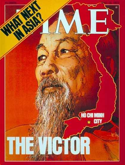 Time - Ho Chi Minh - May 12, 1975 - Vietnam