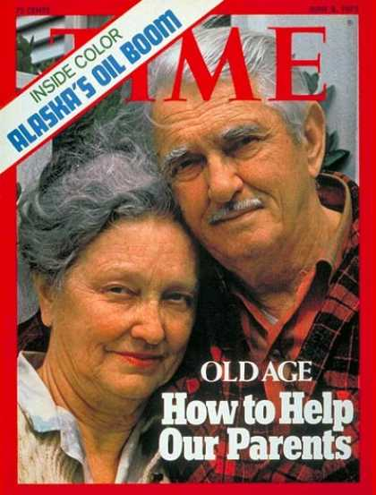 Time - Old Age - June 2, 1975 - Aging - Health & Medicine