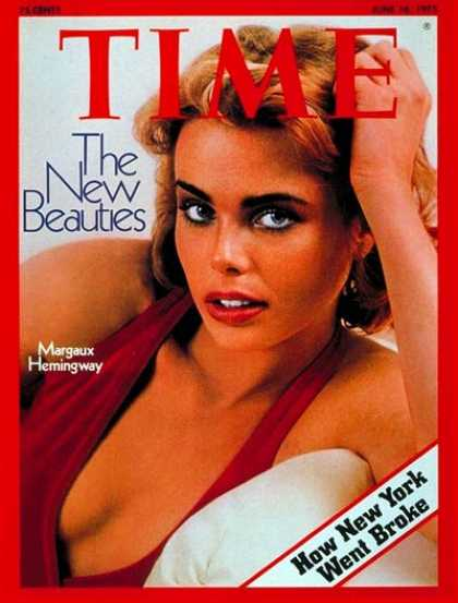 Time - Margaux Hemingway - June 16, 1975 - Actresses - Movies