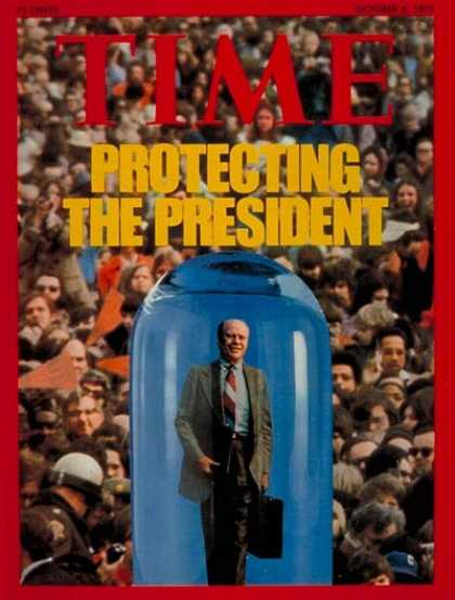 Time - Gerald Ford - Oct. 6, 1975 - U.S. Presidents - Politics