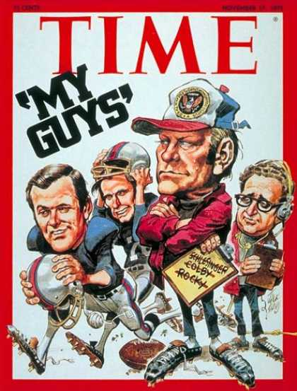 Time - Ford's Team - Nov. 17, 1975 - Gerald Ford - U.S. Presidents - Politics