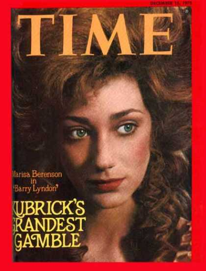 Time - Marisa Berenson - Dec. 15, 1975 - Movies