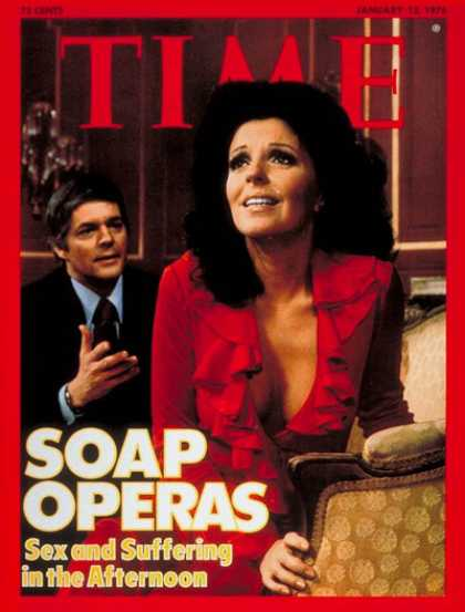 Time - Soap Operas - Jan. 12, 1976 - Television - Broadcasting