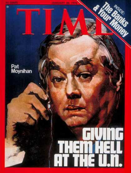 Time - Daniel Patrick Moynihan - Jan. 26, 1976 - United Nations - Diplomacy