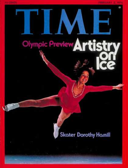 Time - Dorothy Hamill - Feb. 2, 1976 - Olympics - Figure Skating - Sports