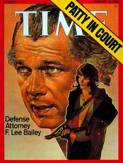 Time - F. Lee Bailey - Feb. 16, 1976 - Crime