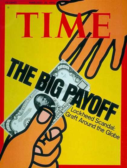Time - Lockheed Scandals - Feb. 23, 1976 - Aviation - Scandals - Transportation